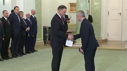 Ostrów Mazowiecka - Prezydent Andrzej Duda powołał Marka Zagórskiego na stanowis