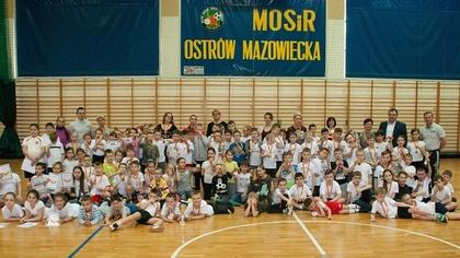 Ostrów Mazowiecka - Miejski Ośrodek Sportu i Rekreacji zaprosił dzieci z klas I-