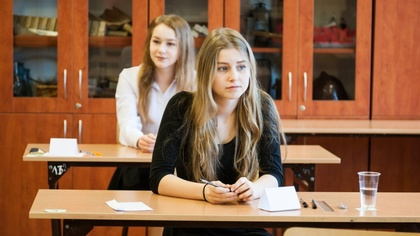 Ostrów Mazowiecka - Dziś gimnazjaliści rozwiązują testy z wiedzy matematyczno-pr