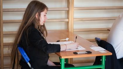 Ostrów Mazowiecka - Ostatnią część egzaminu piszą dziś ostrowscy gimnazjaliści.