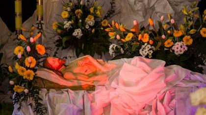 Ostrów Mazowiecka - Na zakończenie wczorajszej liturgii Wielkiego Piątku i drogi