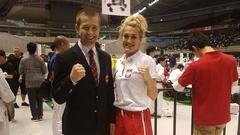 Sport: Ostrów Mazowiecka - Maria Jasko z Małkini Górnej walczy w japońskim To