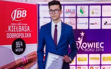 Ostrów Mazowiecka - Hubert Nakielski to niezwykle utalentowany zawodnik, który w