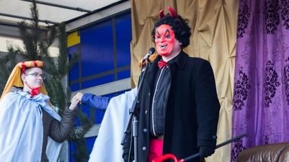 Ostrów Mazowiecka - Ulicami Wąsewa w dniu Objawienia Pańskiego przeszedł barwny