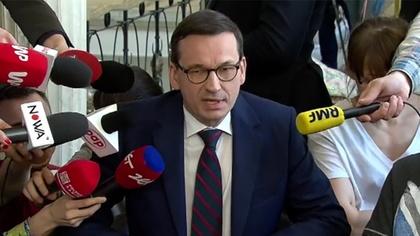 Ostrów Mazowiecka - Premier Mateusz Morawiecki spotkał się z protestującymi w se