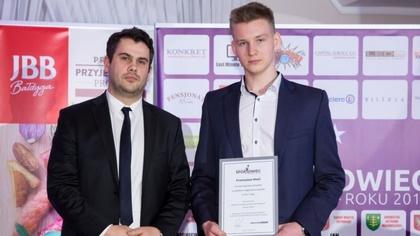 Ostrów Mazowiecka - Przemysław Wasil to 17-letni zawodnik LKS Ostrowianka Ostrów
