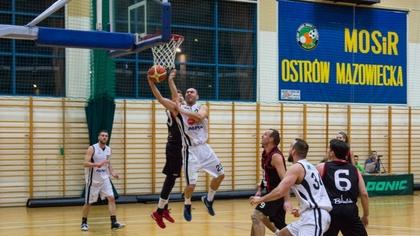 Ostrów Mazowiecka - Koszykarze Sokoła Ostrów Mazowiecka doznali bolesnej porażki