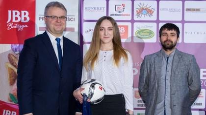 Ostrów Mazowiecka - Justyna Kazanowska z Ostrovii Ostrów Mazowiecka oraz Paweł D