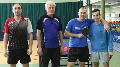 Ostrów Mazowiecka - Tenisiści KS Wąsewo w spotkaniu grupy mistrzowskiej IV ligi