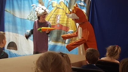 Ostrów Mazowiecka - Z okazji Międzynarodowego Dnia Teatru 27 marca Gminna Biblio