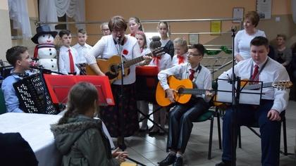 Ostrów Mazowiecka - W dniu 29 grudnia 2017 r. odbyło się spotkanie wigilijne org