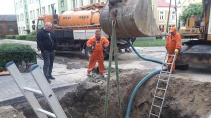 Ostrów Mazowiecka - Jak informuje Urząd Miasta doszło do kolejnej awarii rurocią